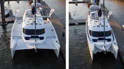 Futura, the folding catamaran