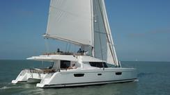 Test of the Fountaine Pajot Ipanema 58 catamaran