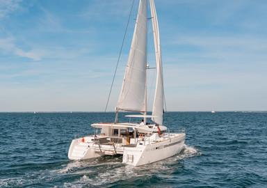 Video: onboard the Lagoon 450 S catamaran