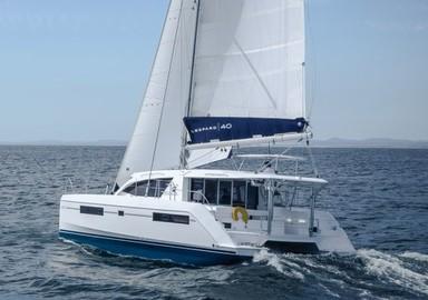 Video: sailing on board the new Leopard 40 catamaran