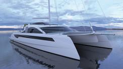 A new Class 6 catamaran for O Yachts