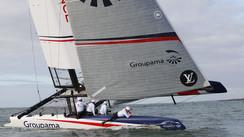 Harken on the AC48s catamarans