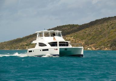 Video: test on board the Leopard 51 Power Catamaran