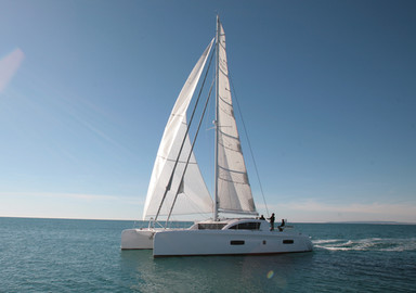 The first video of the Outremer 5X