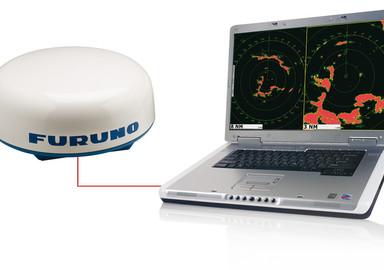Radar antenna and PC