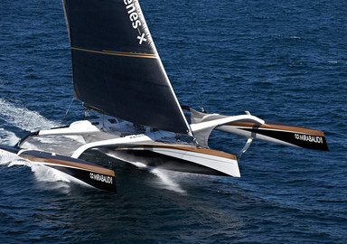 Video: Spindrift 2 on standby in Newport for the crewed North Atlantic record