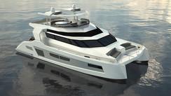 Cathugo, a complete range of motor catamarans