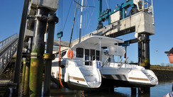 Multihulls harbor berths in the Atlantic