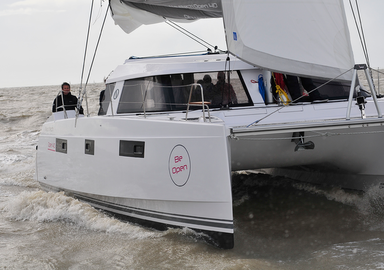 Video: Welcome aboard the new Nautitech Open 40