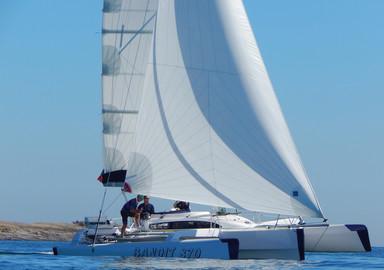 Video: boat review of the trimaran Bandit 870