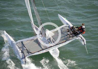 Video: on board the new trimaran Diam 24