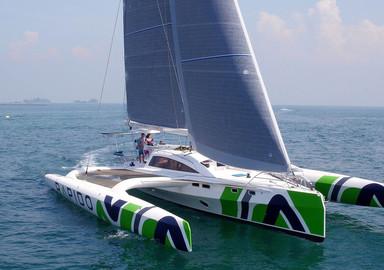 Video: onboard the Rapido 60 trimaran