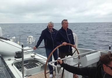 Video: we sailed Vitalia II, ex- Orange 2