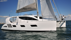 Video: Boat review of the Xquisite X5 catamaran