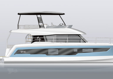 New MY from Fountaine Pajot Motor Yacht