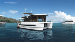 La maison de demain serait-elle un catamaran ?