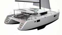 Version SporTop pour les catamarans Lagoon 450 et 52