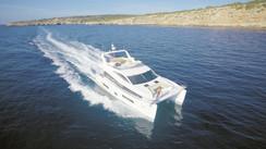 Hudson Power Catamaran 48