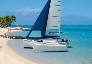 Crusoe Craft 18 Ft Coastal Cruiser Tri