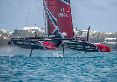The America's Cup.  You won't believe your eyes!