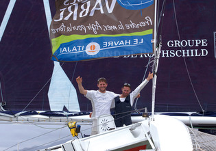 The Transat Jacques Vabre: off for a strong coffee in Itajai, Brazil