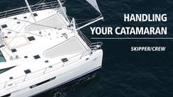 Cruising catamaran maneuvers