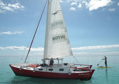 Taboo: a Tiki 30 at Moorea