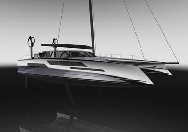 Daedalus Yachts, an avant-garde catamaran