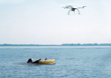 A drone as rescuer?