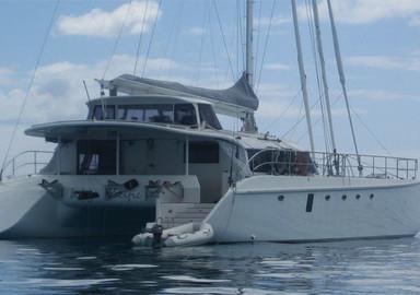 Bruce Roberts-designed catamarans