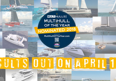 Multihull of the Year:  There is still time to vote and choose your favorite boat!