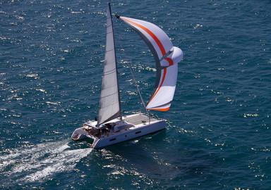Catamaran fundamentals : Downwind Sails: the Parasailor
