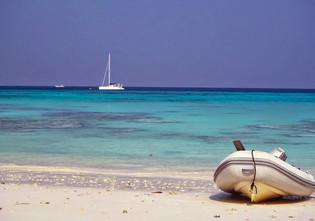 P'tit Filou in the Surin Islands