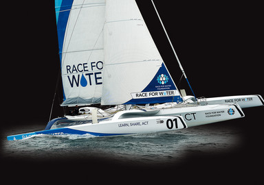 Race for Water Odyssey In a MOD 70 for the planet