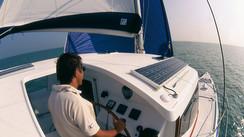 Aventura 36 cruiser A low-budget leisure catamaran for family coastal cruising.