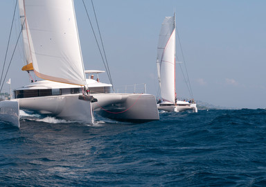 Neel 45, ocean cruising on 3 hulls…