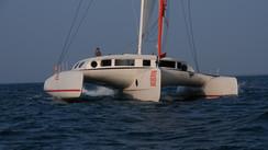 Neel 50: the XXL version cruising trimaran.