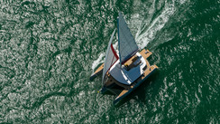 NEEL 65 A trimaran with a winning formula for interior space