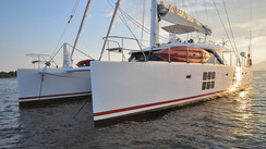 SUNREEF 58' IN THE WIND An up to date builder and boat