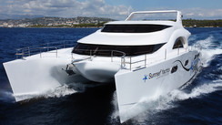 Sunreef 70 Power Expedition The attempt to create a big, ecologically acceptable, ocean-cruising motor catamaran...
